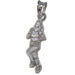 Lady Runner Sterling Silver Pendant