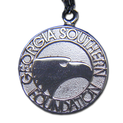Georgia Southern University Foundation Silver Pendant