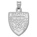 Harvard Business School Shield Silver Pendant