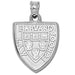Harvard Law School Shield Silver Pendant