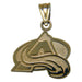 Colorado Avalanche A Logo Small 14 kt Gold Pendant