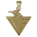 Pittsburgh Penguins Logo 14 kt Gold Medium Pendant