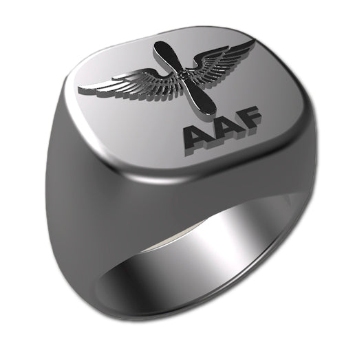 Army Ring - Army Air Force Badge Ring