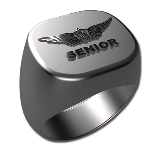 Army Ring - Senior Flight Surgeon Badge Ring