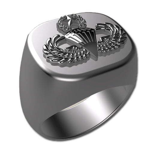 Army Ring - Master Parachutist Badge Ring