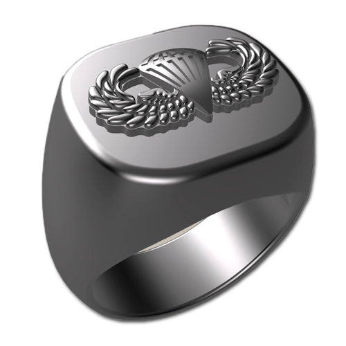 Army Ring - Basic Parachutist Badge Ring