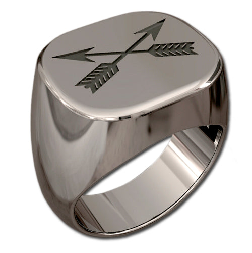 Special Forces Badge Ring - Engraved
