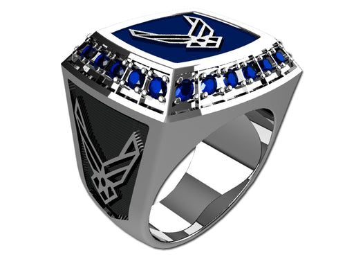 US Air Force Mens Ring - Championship Style Type III