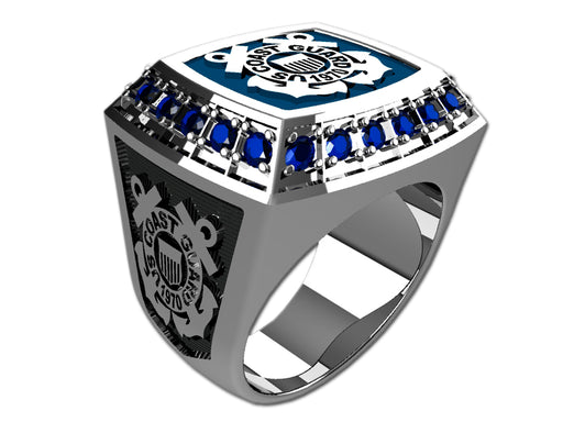 US Coast Guard Mens Ring - Championship Style Type III
