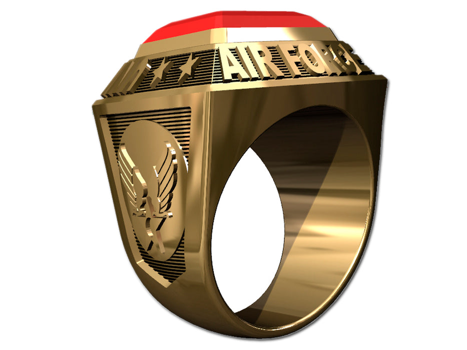 US Air Force Mens Ring - Championship Style Type I