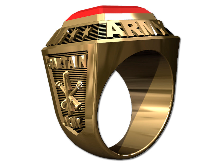 US Army Mens Ring - Championship Style Type I