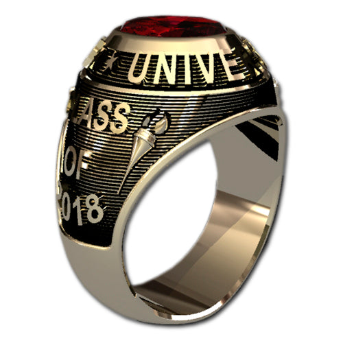 Traditional Style Class Ring
