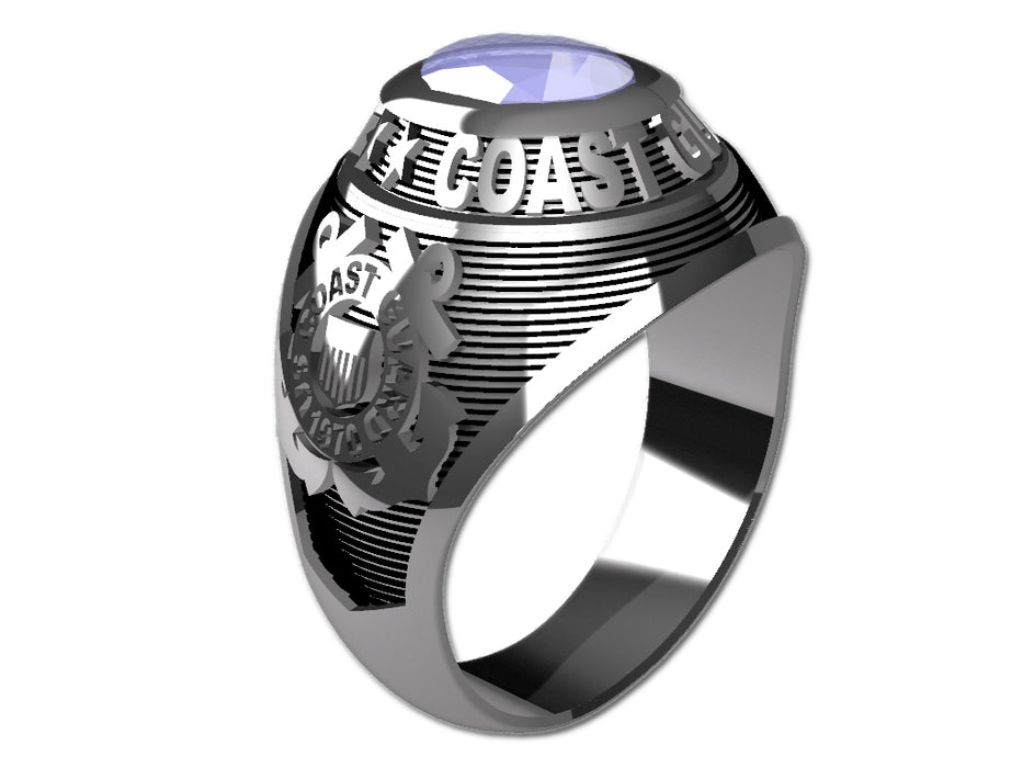 US Coast Guard Ladies Ring - Classic