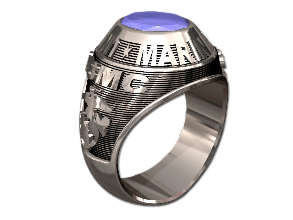 US Marine Corps Mens Ring - Classic