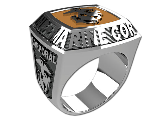 US Marine Corps Mens Ring - Championship Style Type II