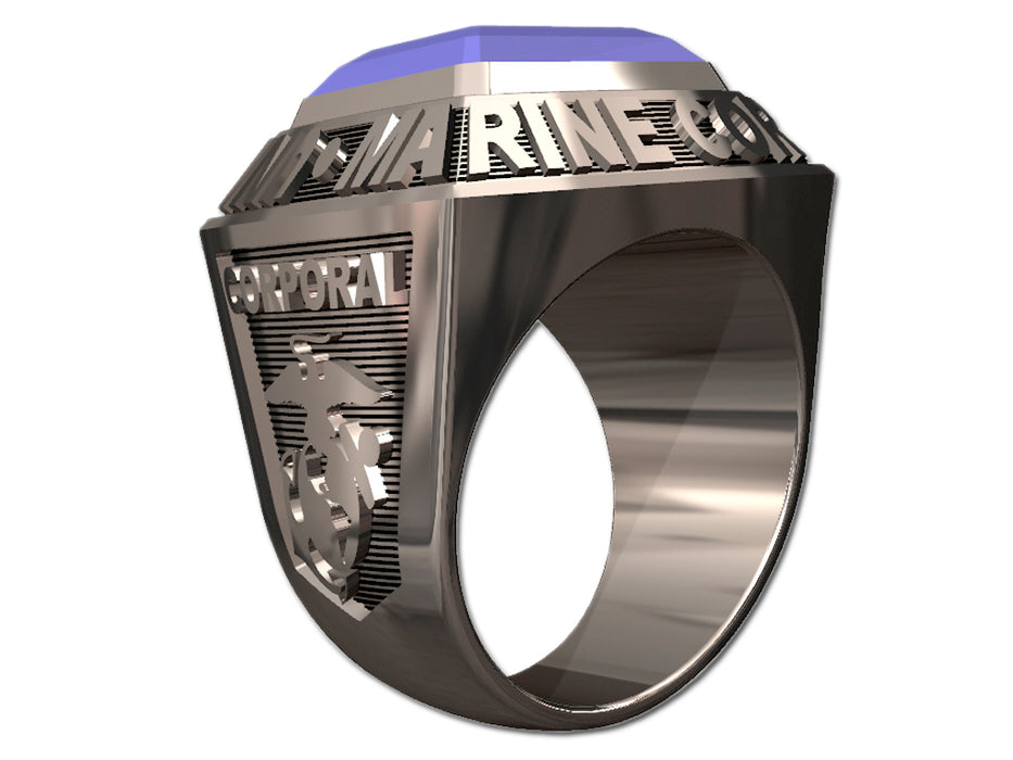 US Marine Corps Mens Ring - Championship Style Type I