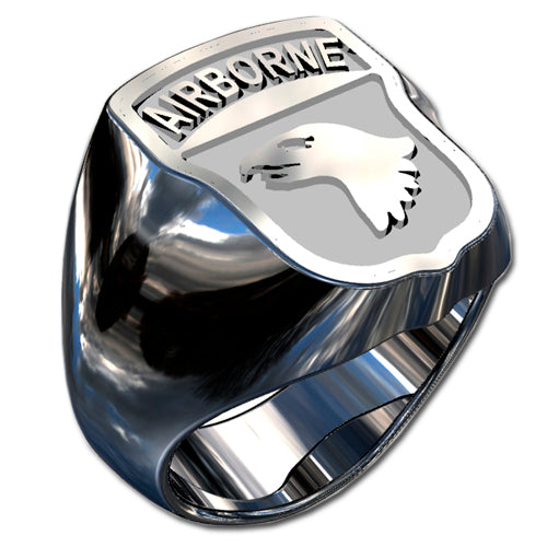 Army Ring - 101st Airborne Division Badge Ring