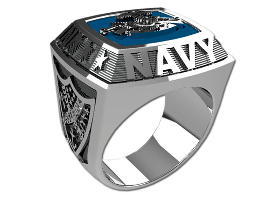 US Navy Mens Ring - Championship Style Type II