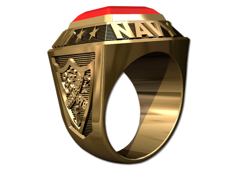 US Navy Mens Ring - Championship Style Type I
