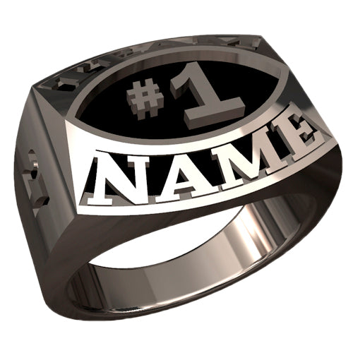 Contemporary Style Championship Ring