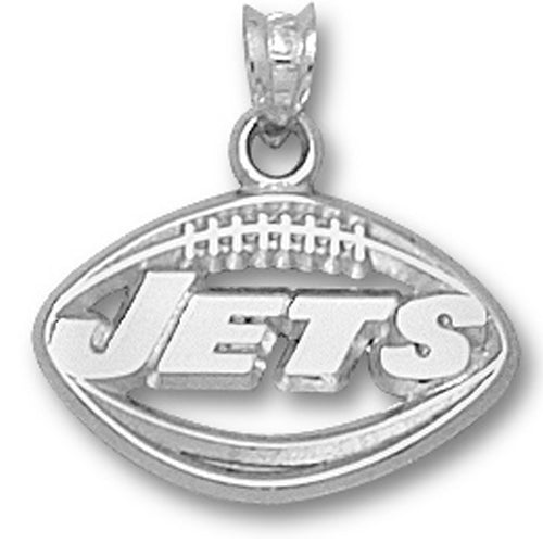 New York Jets Pierced Football