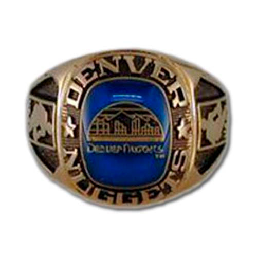 Denver Nuggets Classic Goldplated NBA Ring