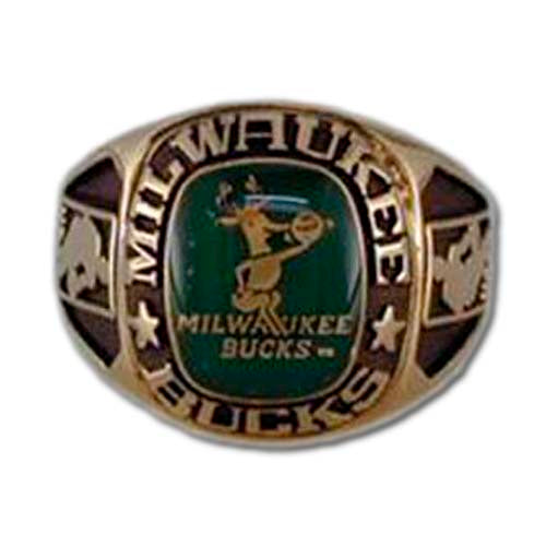 Milwaukee Bucks Classic Goldplated Ring