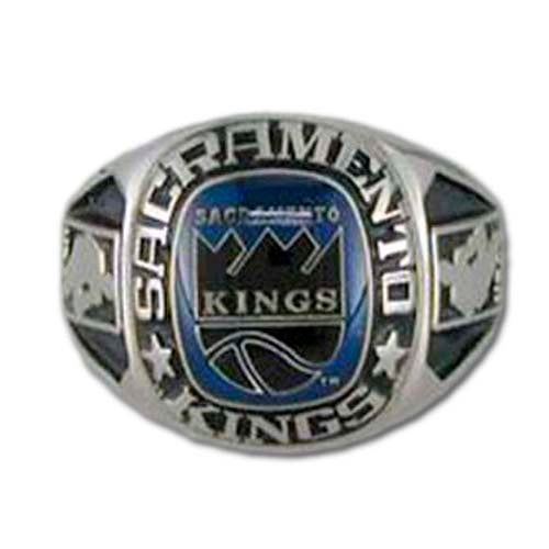 Sacramento Kings Classic Silvertone Ring
