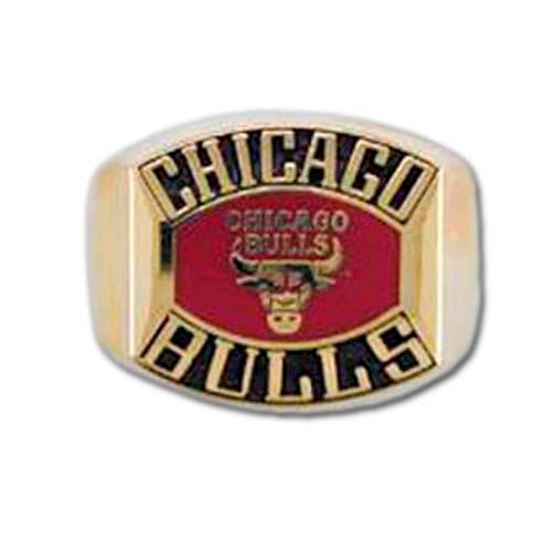 Chicago Bulls Classic Goldplated Ring