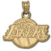 Los Angeles Lakers Logo 10 kt Gold Pendant