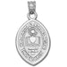 Lehigh University Seal Silver Small Pendant
