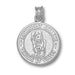 Methodist College Seal Silver Pendant