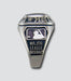 Atlanta Braves Classic Silvertone Ring - Side Panels
