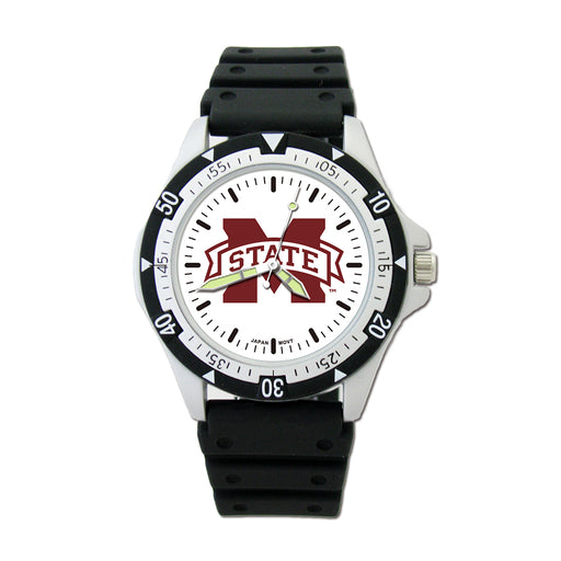 Mississippi State Univ Option Sport Watch With PU Rubber STR