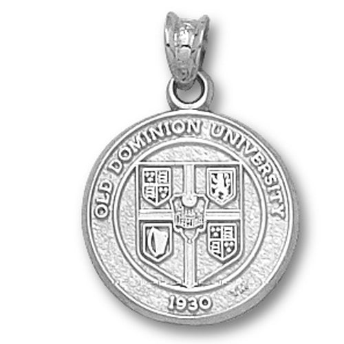 Old Dominion University Seal Silver Pendant