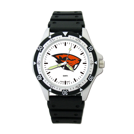 Oregon State Univ Option Sport Watch With PU Rubber Strap