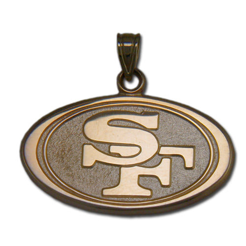 San Francisco 49ers SF in oval