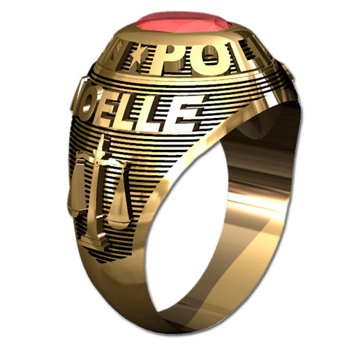 Ladies Traditional Police Ring