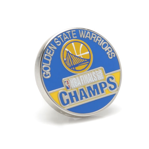 2018 Golden State Warriors NBA Champions Lapel Pin