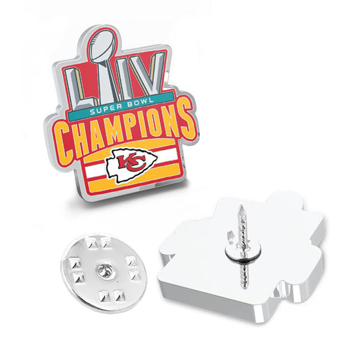 2020 Kansas City Chiefs Super Bowl Champions Lapel Pin