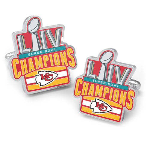 2020 Kansas City Chiefs Super Bowl Champions Cufflinks