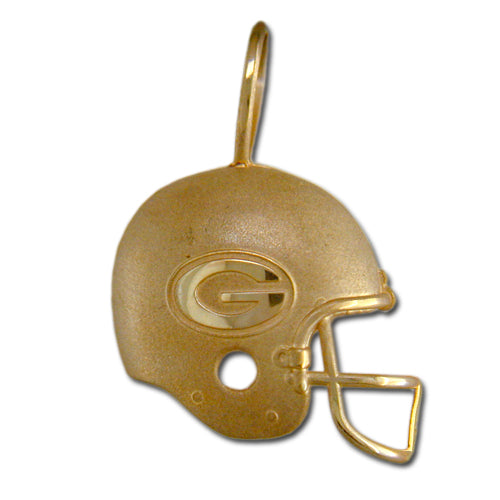 University of Georgia Bulldogs Helmet 14 kt Gold Pendant