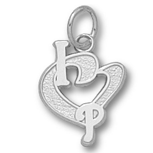 Philadelphia Phillies I Heart Logo Small Pendant
