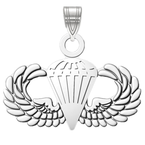 BASIC PARACHUTE Sterling Silver Pendant
