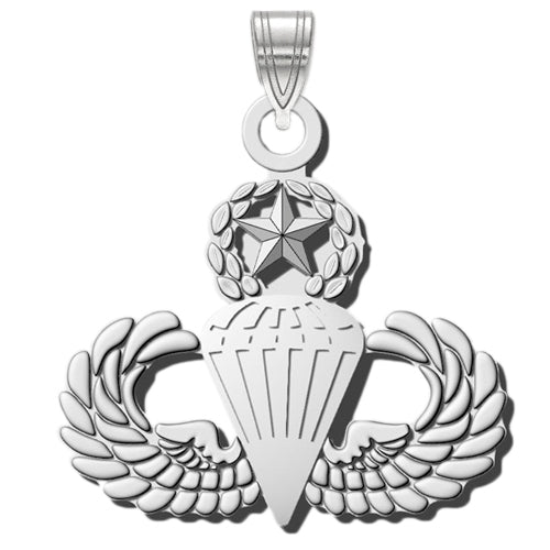 MASTER PARACHUTE Sterling Silver Pendant