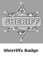 Sheriffs Badge