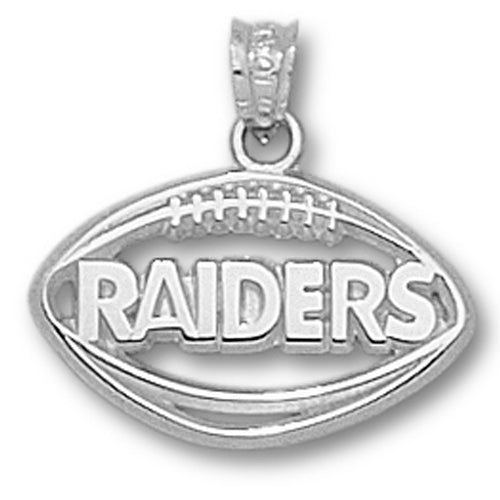 Oakland Raiders Pierced Football