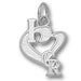 Colorado Rockies I Heart Logo  Pendant