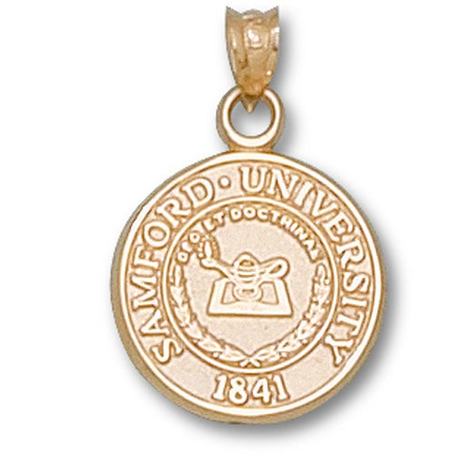 Samford University Seal 10 kt Gold Pendant