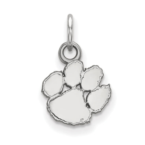 White Sterling Silver Charm Pendant South Carolina NCAA The Citadel 22 mm 15